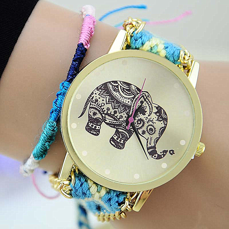 HOT Sell Brand Handmade Braided Elephant Friendshi...