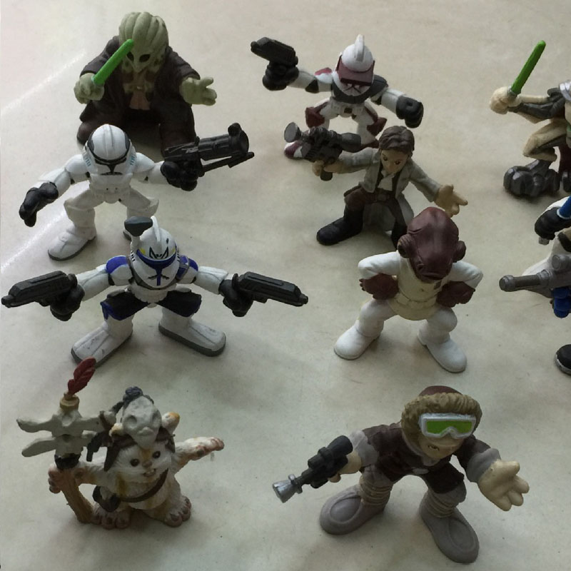 Wholesale 50pcs lot Star Wars Action Figures Boy s action toys 6cm