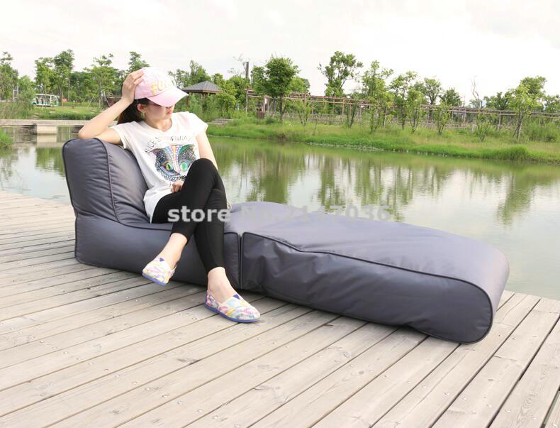 Leisure and comfortable folding beanbag sofa fold fatball bean bag chair