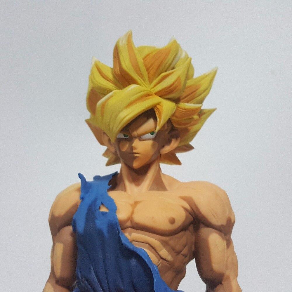 Dragon Ball Z Action Figures Son Goku Super Saiyan Cartoon Color