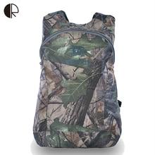 Hot Sale Unisex Folding Light Backpacks Camouflage Travel Bags Waterproof Light Luggage BP042