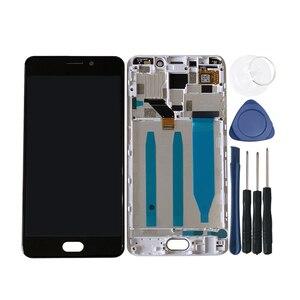 """Image 5 - Ban Đầu Axisinternational 5.5 """"Cho Meizu M6 Note Màn Hình LCD + Bảng Điều Khiển Cảm Ứng Bộ Số Hóa Có Khung Cho M6 Note màn Hình Hiển Thị"""