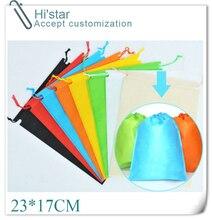 23 * 17 см 20 шт. оптовая продажа многоразовые экологичный без сумки индивидуальные логотип 8 цветов на выбор
