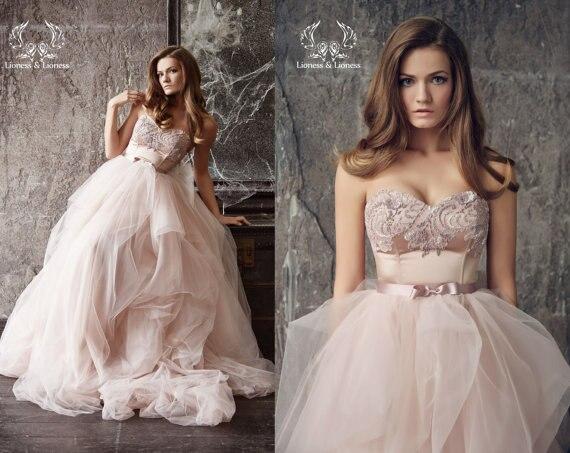 עדכני זול שמלות כלה חמה למכירה hochzeitskleider בעבודת יד מתוקה נסיכת FS-38