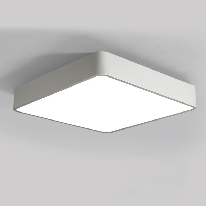 Horsten modern minimalism square led ceiling light simple black horsten modern minimalism square led ceiling light simple black white color ceiling lamp for bedroom kitchen balcony office 220v in ceiling lights from aloadofball Choice Image