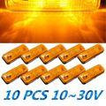 New 4 LED Side Marker Light Indicator Lamp Bus Truck Trailer Lorry Caravan 10~30V E8