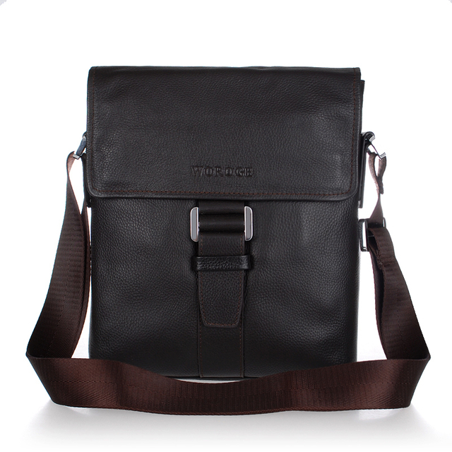 Free shipping / factory direct/ Genuine leather/ men's  messenger bag / men's shoulder bag