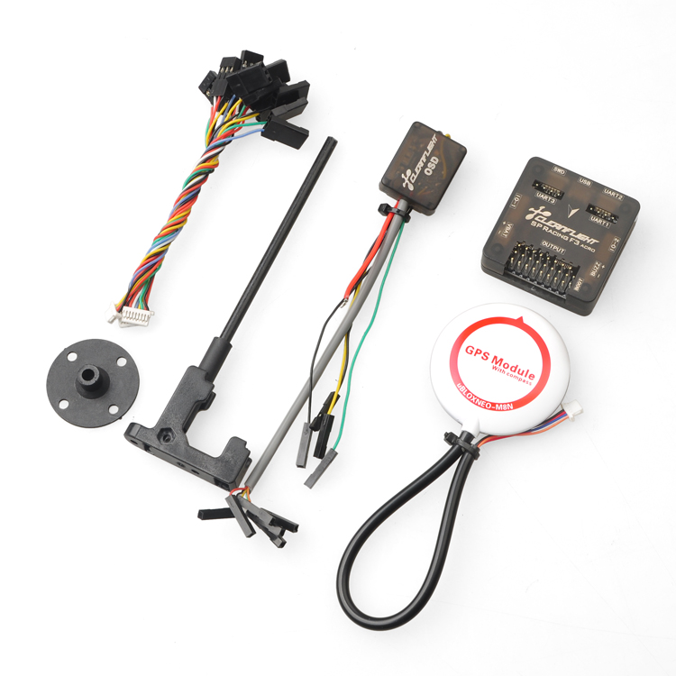 F16822 Pro SP Racing F3 Flight Control Acro 6DOF with M8N GPS M8N GPS OSD Combo
