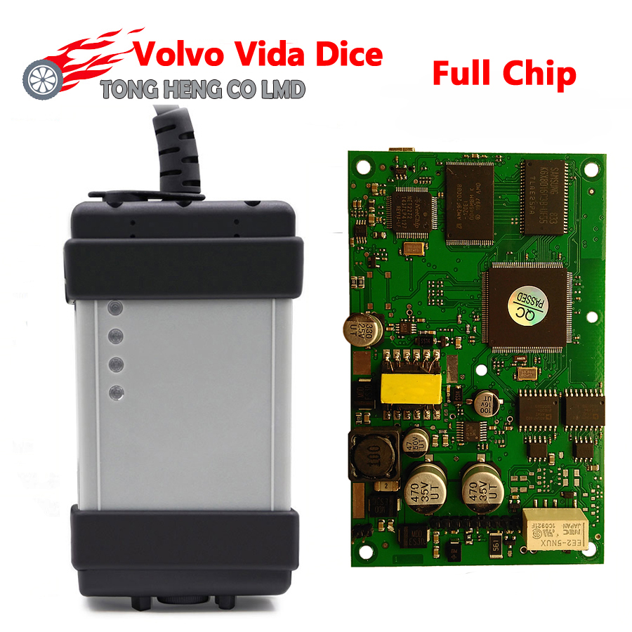 High Quality Full Chip for Volvo Vida Dice Super for VOLVO VIDA DICE PRO  2014D Firmware Update Self-Test For Volvo Scanner