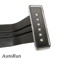 Brake Light Rear Tail Lamp For Jeep Wrangler JK Sport Sahara Rubicon 15W 3rd LED