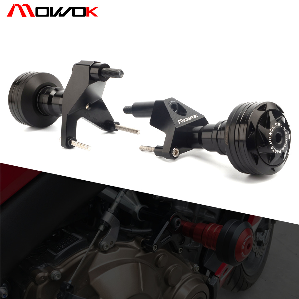 Motorcycle Falling Protection high quality Left and Right Frame Sliders Protector For HONDA CB650F CB 650F