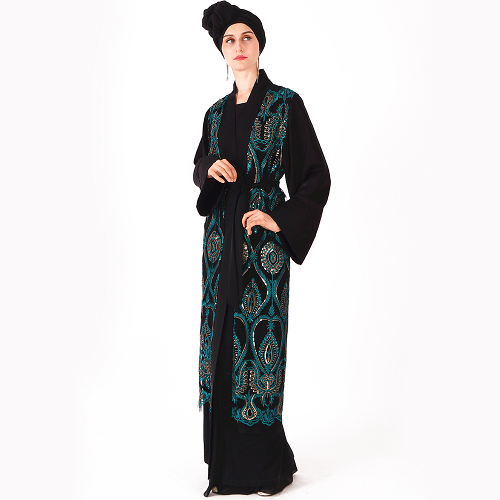 Muslim Dress Abaya Islamic Clothing For Women Malaysia Jilbab Djellaba Robe Musulmane Turkish Baju Kimono Kaftan