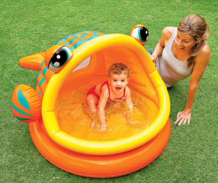 Awe Inspiring Us 46 8 Big Mouth Fish Inflatable Swimming Pool Round Shade Pool Baby Bath Tub Ocean Ball Pool Inflated Bean Bag Chair And Sofas In Living Room Creativecarmelina Interior Chair Design Creativecarmelinacom