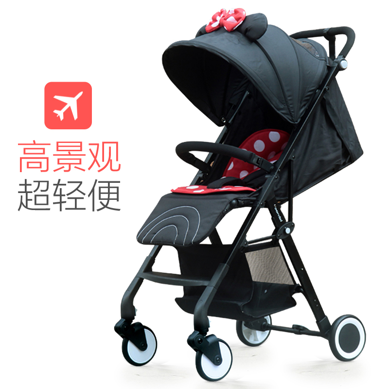 Oxford cloth material multi-color baby stroller can be on the plane can sit reclining four-wheel shock absorption non-slip handl twins stroller oxford cloth awnings blue star four styles for your choice limited products promotion on sale