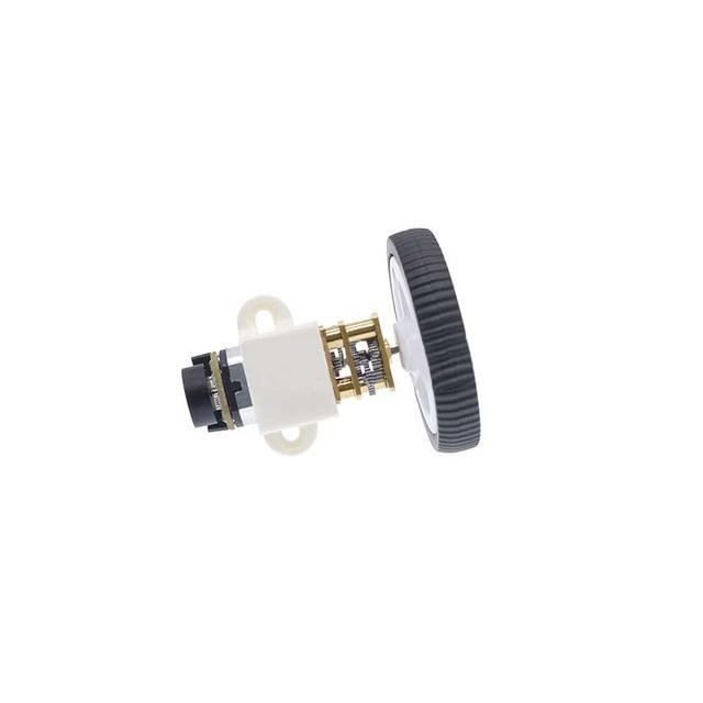 DC 6 V Encoder Motor Gear N20 Micro Gear Motor Elektrische Mini Motor met 34mm Wiel Schroeven Montage Beugel koppeling Kit