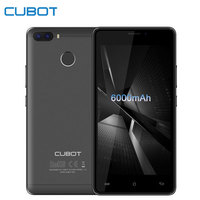 Cubot H3 5 Pollice Smartphone 6000 mAh 3 GB RAM 32 GB di ROM Android 7.0 Quad Core MT6737 13MP + 8MP Wifi Dual Cameres 4G LTE Cellulare telefoni