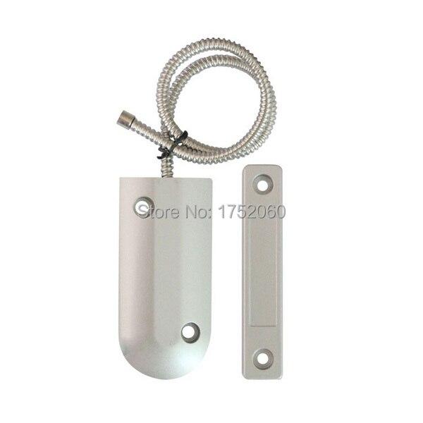 Metal Material Wired Door Contact Sensor Garage Door Alarm Sensor