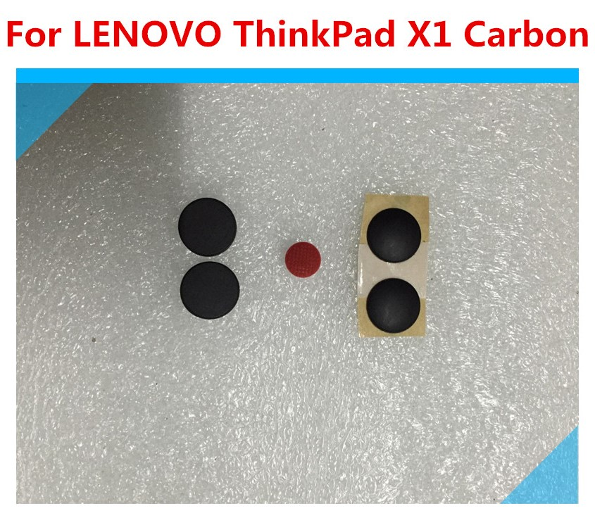 New For Lenovo ThinkPad X1 Carbon 2nd 3rd Gen 2014 2015 Base Rubber Feet Cover 4pcs / set image
