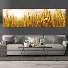 Настенная Картина на холсте Художественная печать Пшеница на холсте и плакаты Картина Настенная художественная живопись украшение для гостиной без рамки