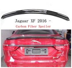Spojler z włókna węglowego dla Jaguar XF XFL 2016 2017 2018 tylna owiewka spoilery wysokiej jakości akcesoria samochodowe