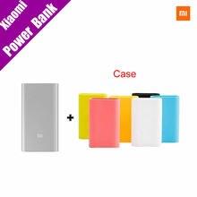 Original Cargador Portátil Delgado Powerbank Banco de la Energía 5000 mAh Xiaomi Mi 5000 para Xiaomi Teléfonos Móviles + Funda de Silicona