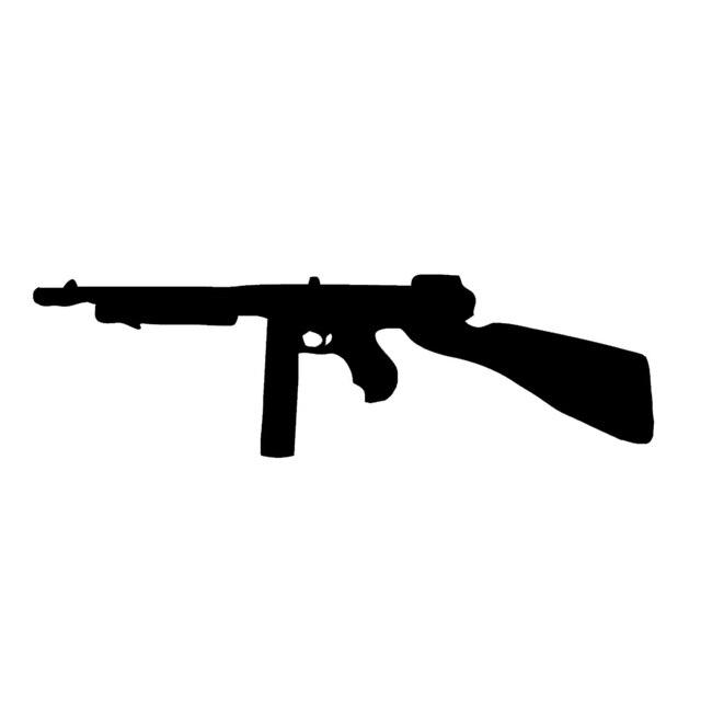 Wholesale 10pcs Lot 20pcs Lot Classic Rifle Silhouette Jdm