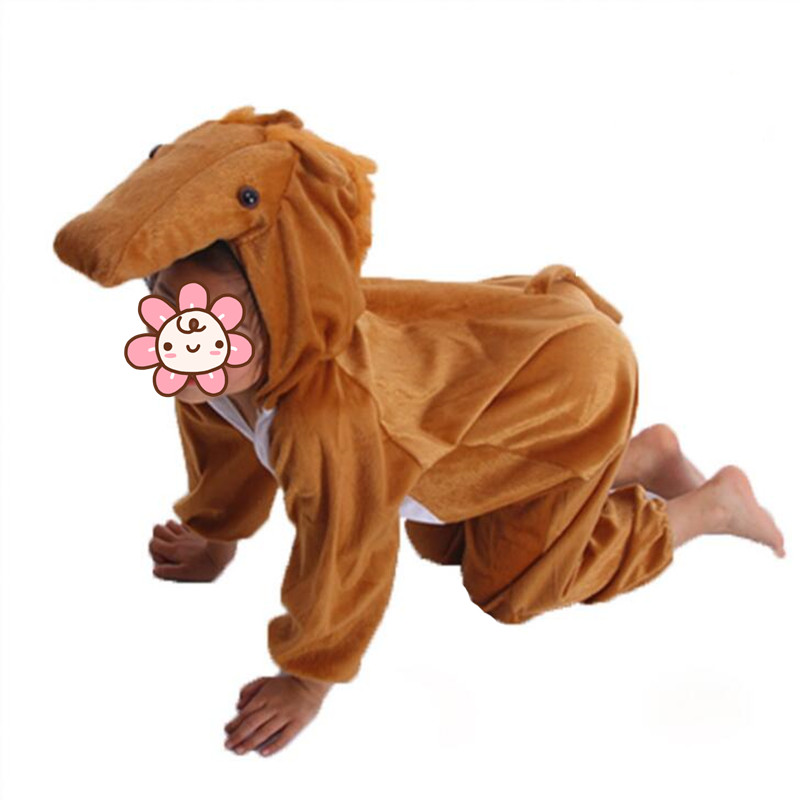 2018 Boy Girls Cartoon Animal Costume for Kids Horse Cosplay Jumpsuits Costumes Children Party Dress Supplies Purim-in Boys Costumes from Novelty u0026 Special ...  sc 1 st  AliExpress.com & 2018 Boy Girls Cartoon Animal Costume for Kids Horse Cosplay ...