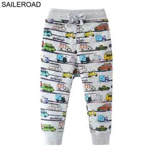 SAILEROAD Baby Kids Pants Cotton Children Boy's Trouser