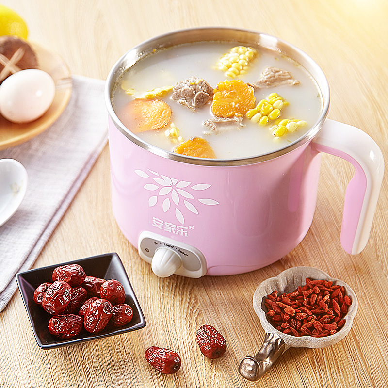 Мини бытовой Элек Малый Мощность туризма Plug общежитие небольшой горшок готовить лапши каша тушить суп нагреть молоко кипятить воду Портативный