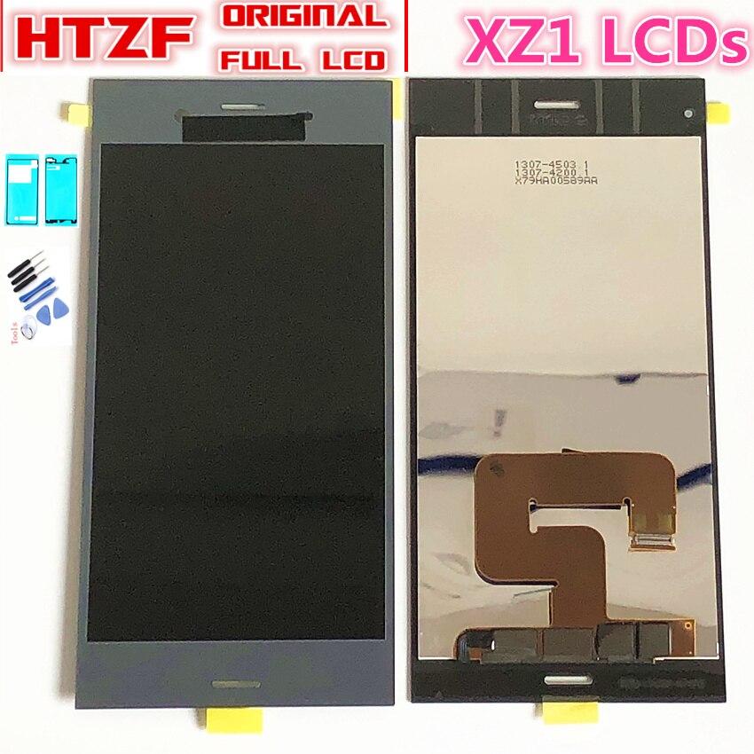 "5.2"" Original LCD for SONY Xperia XZ1 LCD Display Touch Screen Replacement for SONY XZ1 LCD Display Module XZ1 G8341 G8342 LCD(China)"