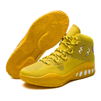 Men S New Cool Basketball Shoes Men Mesh Different Colors Breathable Basketball Boots Basket Shoes Flywire
