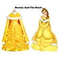 Beauty and the Beast princess Belle cloak Halloween costumes for adult women princess cloak fancy cosplay accessory cloak
