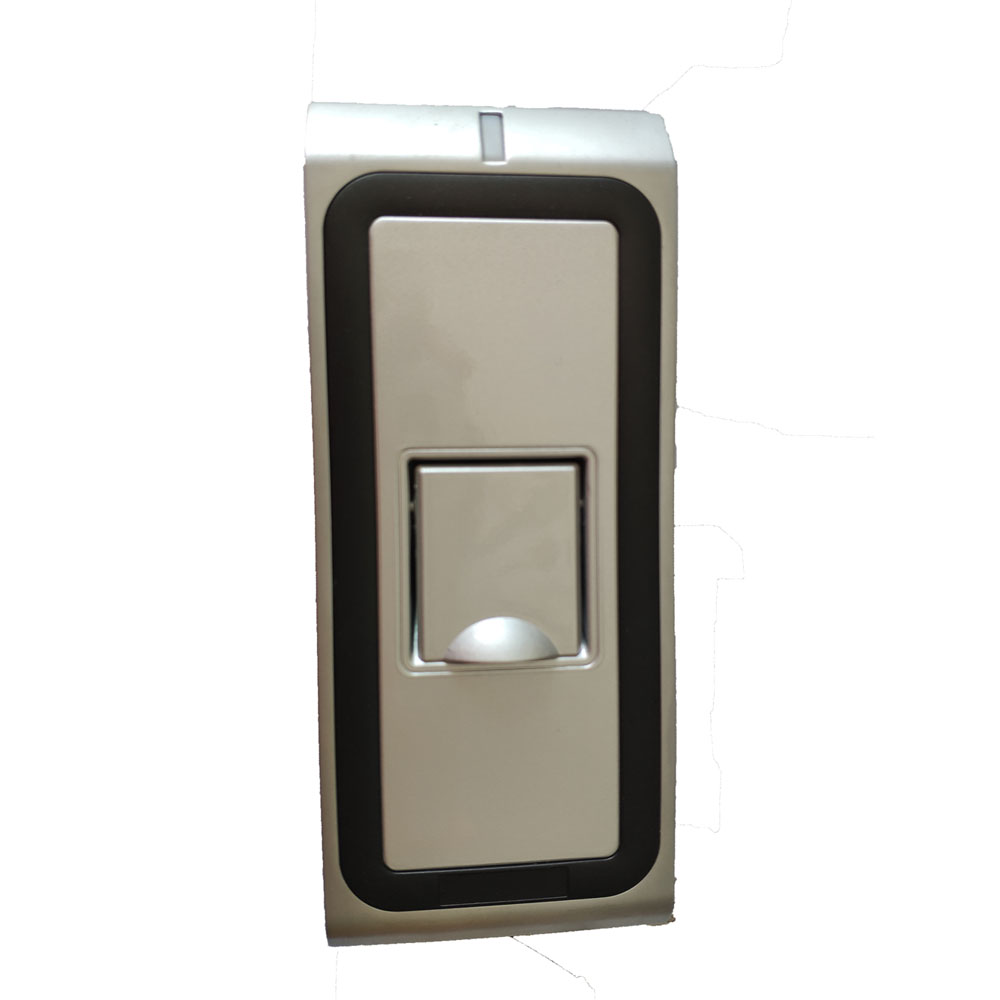 WF2 Metal Case RFID Reader Finger Scanner Code System Biometric Fingerprint Access Control for Door Lock цена