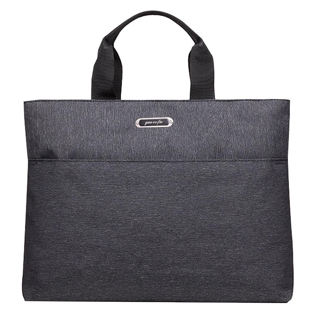 2019 New Fashion Men's Briefcase Business Handbag Laptop Casual Large Shoulder Bag Messenger Bags Luxury Bolsas Handbags