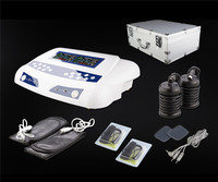 Massage & Relaxation Ion Cleanse Detoxify Machine AH 805D Dual Screen Display with Two Pairs Massager Slippers and Aluminum Box