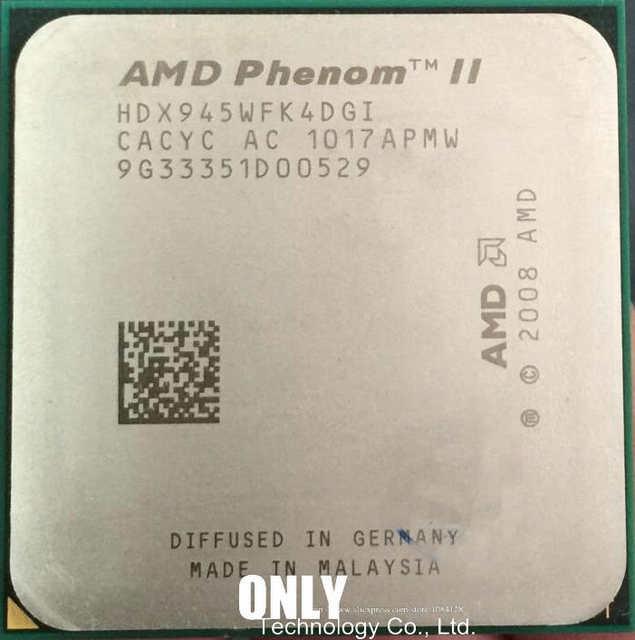 amd phenom ii x4 945 specs
