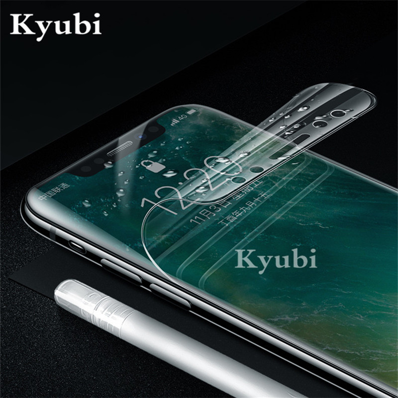 Hydrogel Full Screen Protector For Huawei Nova 4 2 2i 3 3i P10 Honor 8 P9 P8 Lite 2017 Film For Huawei P Smart Plus Y9 2019 Soft