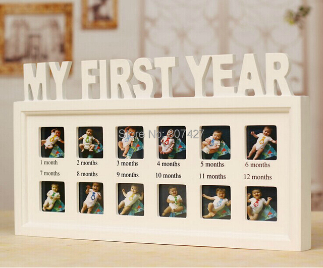 Aliexpress.com : Buy Baby\'s First Years Photo Frame Children grow up ...