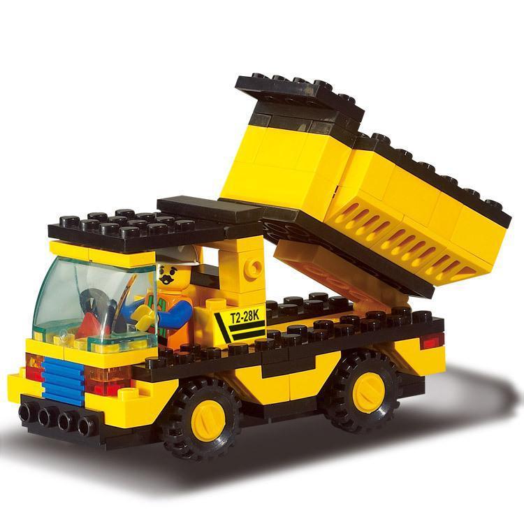 BOHS Blocks Heavy Engineering Series Of 9500 Children Educational Toy Truck