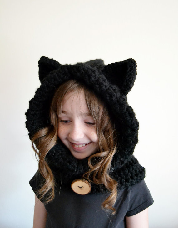 Kitty Cat Hat Crochet Pattern (With images) | Crochet hats ... | 728x570
