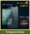 Para yota yotaphone 2 a prueba de explosiones templado protector de pantalla de 0.3mm 2.5d 9 h protector de la película protectora pelicula de vidro