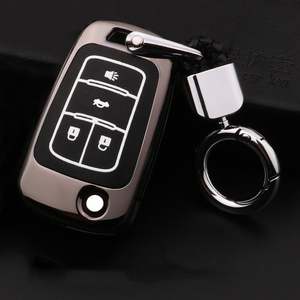 Image 3 - Luminous Leather Car Key Case Cover For OPEL Insignia VAUXHALL Astra J Mokka For Buick For Chevrolet Cruze Aveo Spark TRAX Volt
