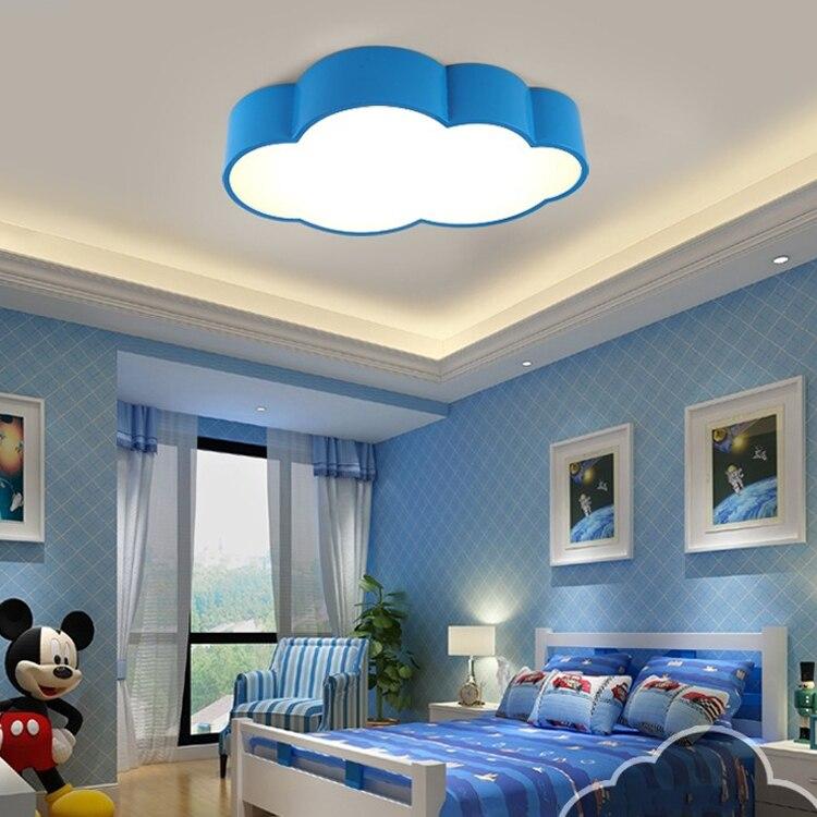 US $76.69 32% OFF|Kids LED Ceiling light lovely ceiling lamp boy girl  bedroom lighting fixture colorful led light for kindergarten 110 240V-in  Ceiling ...