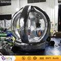 Color plata inflable stand dinero máquina, cabina Inflable cash money grabber juego para la promoción 2.2 metros hign BG-A0675-7 juguete