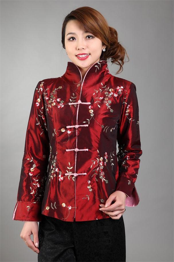 Moda primavera clothing señoras chaqueta de las mujeres chinas capa de la chaque