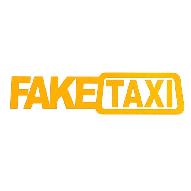 2 шт. поддельные такси наклейки для автомобиля светоотражающие наклейки смешные окна виниловые наклейки для автомобиля Стайлинг самоклеющиеся наклейки с эмблемами авто