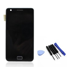 Black / White 100% test working For Samsung LCD touch screen display with digitizer glass Assembly + Free Tools + Adehsive