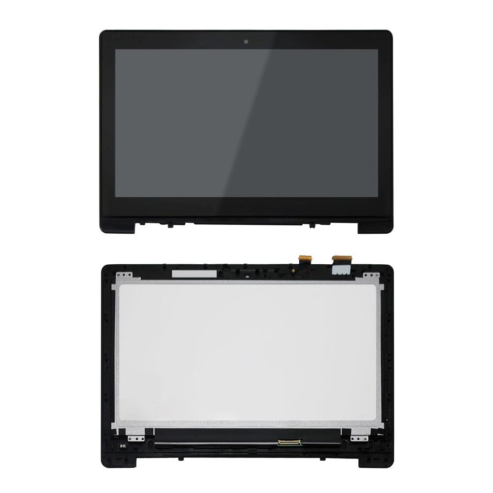 New Full LCD Touch Assembly for Asus Q301 Q301L Q301LA Q301LP Series JA DA5308RA,WITH Bezel