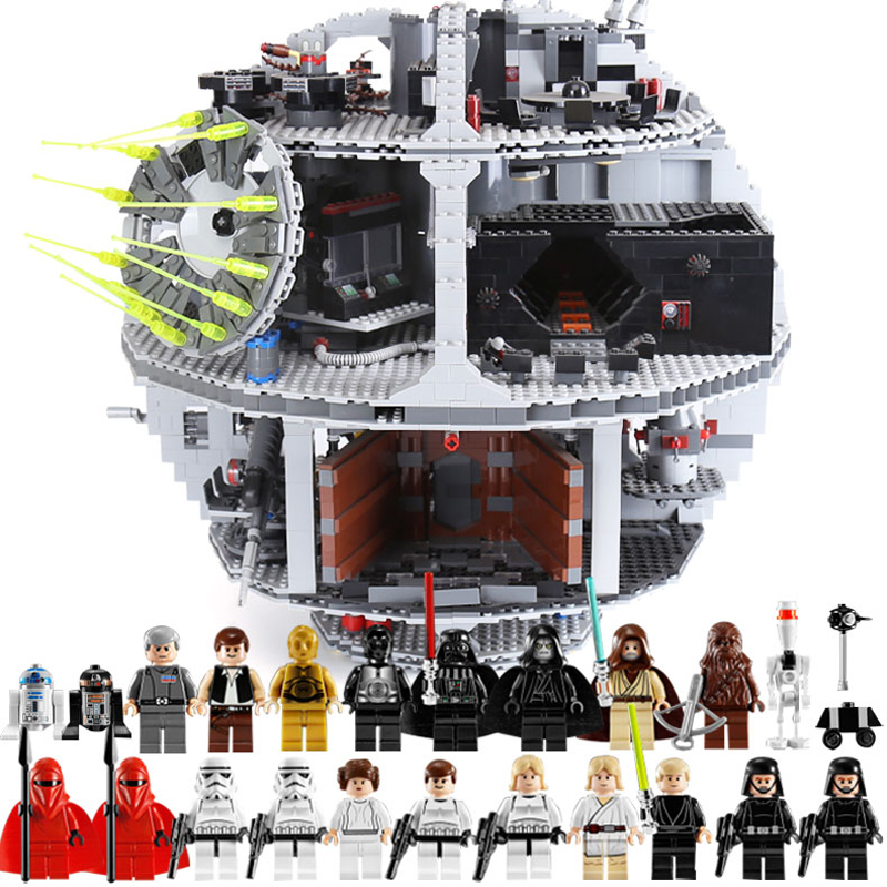 Lepin 05035 Death Star Building Block Bricks Toys Compatible legoinglys 10188 Wars Children Educational Birthday Toys Gifts lepin 05035 star series death wars 3804pcs building bricks toys kits compatible with legoinglys 10188 educational gift for boy