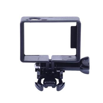 ALLOYSEED Black PC Camera Case Holder Frame Active Stand Holder Mount Accessory Kit for GoPro Hero 3/3+/4 Camera Case image